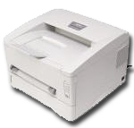 A typical laser printer