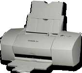 A typical inkjet printer